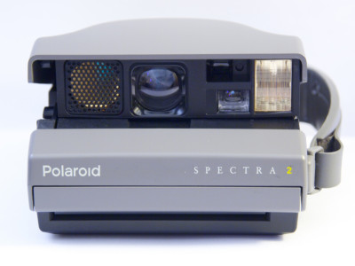 how to put film in a polaroid 300